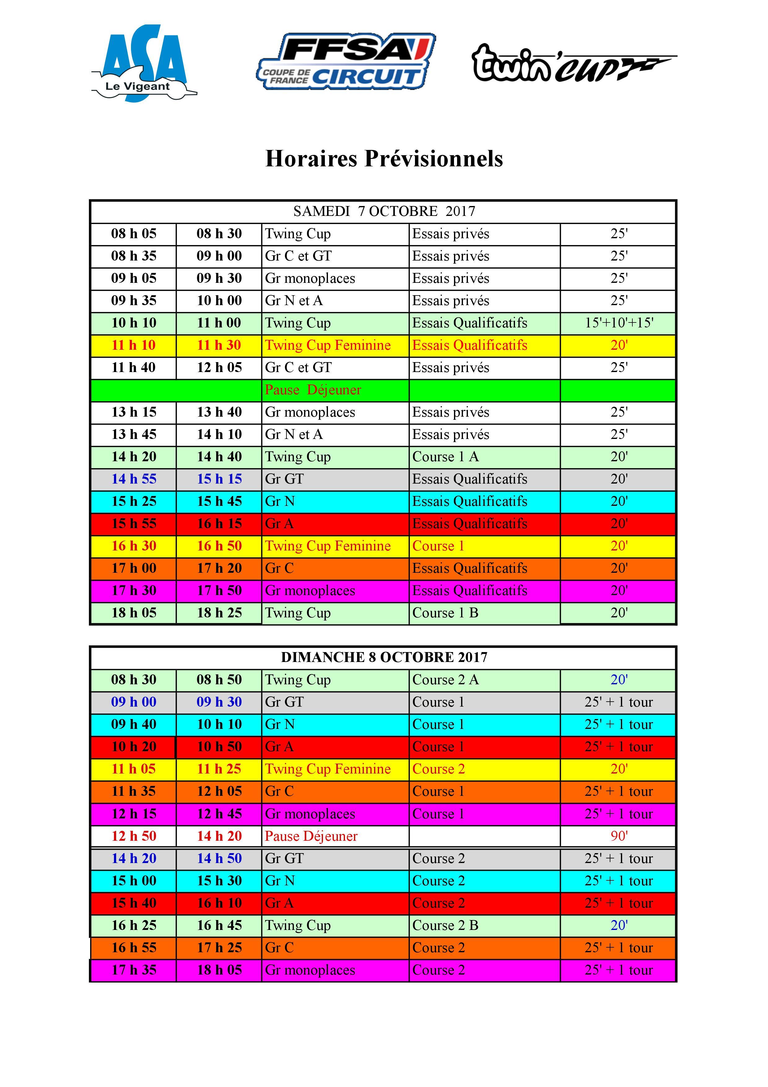 Circuit Val De Vienne Calendrier 2019.Coupe De France Des Circuits Programmes Les Deux Arbres
